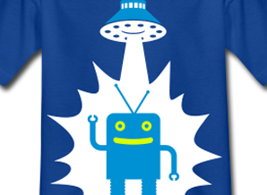 spaceman tshirt design